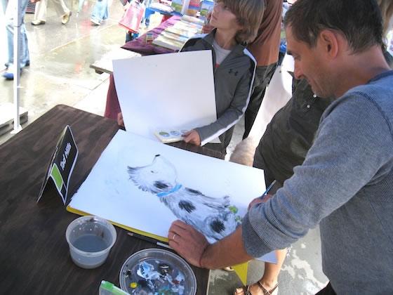 tad_drawing_rocket_brooklyn_books